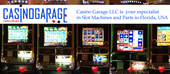 New and Refurbished Slot Machines and Parts